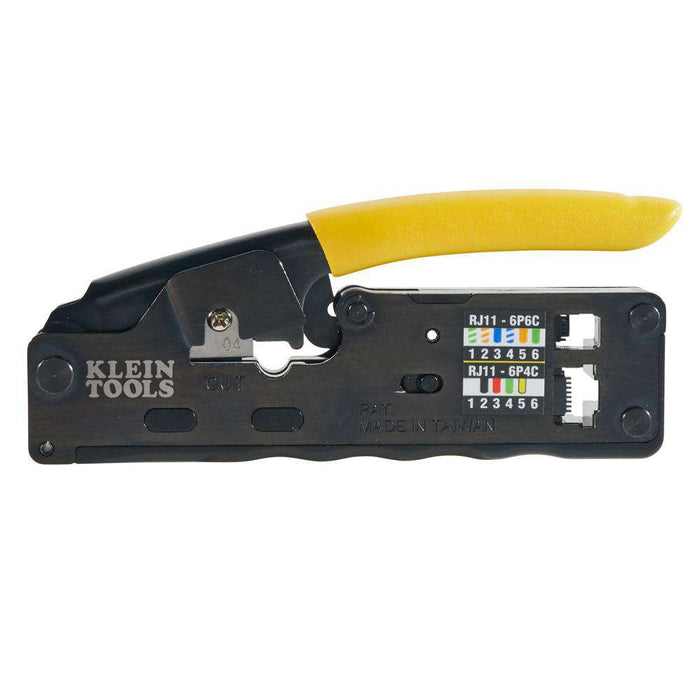 Klein Tools VDV226-107 Compact Ratcheting Modular Crimper - Edmondson Supply