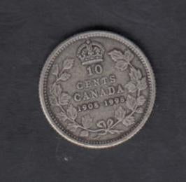 1908-1998 Canada Ten Cents Sterling Matte Silver proof - Trade your coins