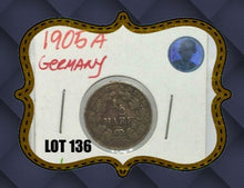 1905 a Germany Silver 1/2 Mark Coin Lot-136 - Trade your coins