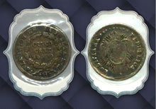 1872 Bolivia  FE Cinco Cents-Silver 5 Centavos Coin Lot-139
