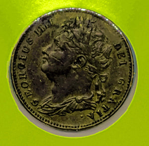 1825 Great Britain Farthing Georgius IIII KM 677 - Trade your coins