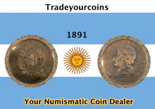 1891 Republica Argentina Dos Centavos - Trade your coins