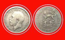 1916 Great Britain Silver Shilling George V, Lot:191