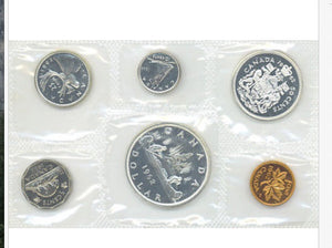 1962 Canada Silver Prooflike Uncirculated Coin Set