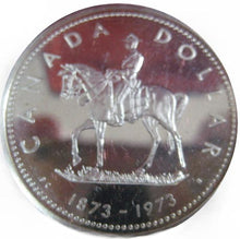 1973 Canada Silver Specimen Dollar-Canadian Mounted Police