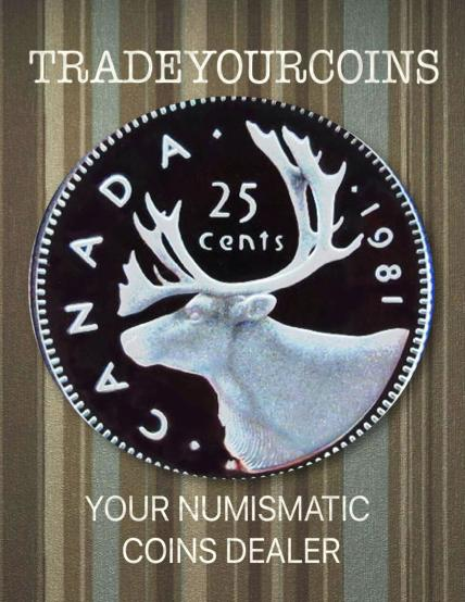 1981 Canada Nickel Quarter Proof Caribou - 25 Cents