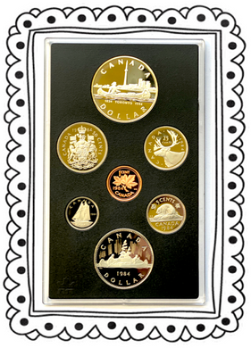 1984 Proof Set-Toronto Sesquicentennial