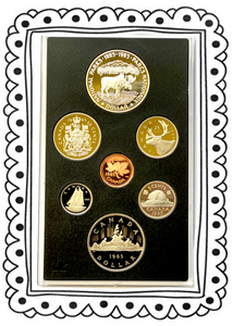 1985 Proof Set-National Parks Centennial