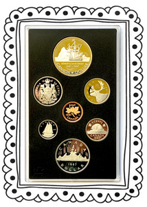 1987 Proof Set-John Davis