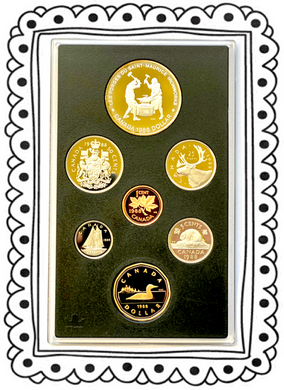 1988 Proof Set-Saint-Maurice Ironworks