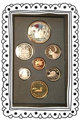 1989 Proof Set-Mackenzie River Bicentennial