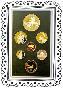 1990 Proof Set-Henry Kelsey Tricentennial