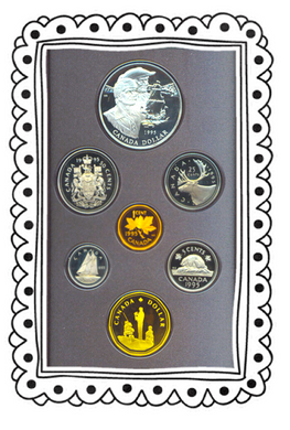 1995 Proof Set-Special Edition, 325th Anniv. of the Hudson's Bay Company