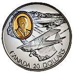 1995 Canada 20$ Fleet 80 Canuck-Aviation commemoratives Series two, Coin # 1
