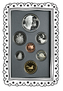 1995 Proof Set-325th Anniv. of the Hudson's Bay Company