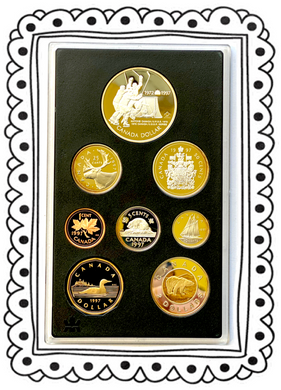 1997 Proof Set-25th Anniversary 1972 Canada/Russia Hockey Series