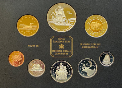 1999 Proof Set-225th Anniversary of the Voyage of Juan Perez