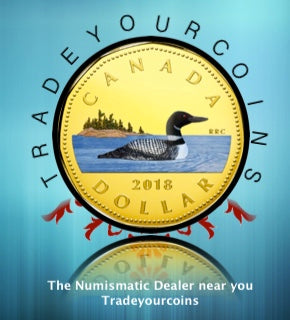 2018 Canada Fine Silver Colourised  Proof Loonie Common Loon-Dollar