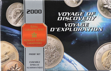 2000 Proof Set-Voyage of Discovery