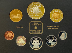 2001 Proof Set-50th Anniv. National Ballet of Canada
