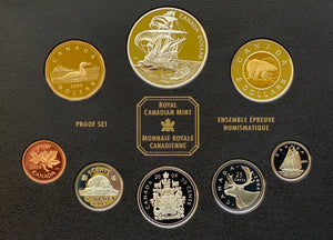 2004 Proof Set-400th Anniv. of the Fist French Settlement