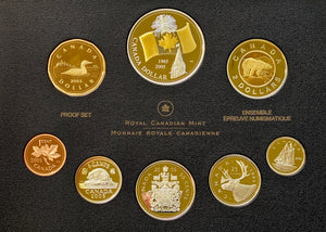 2005 Proof Set-40th Anniv. of Canada's National Flag