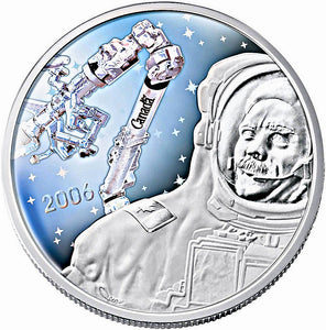 2006 Thirty Dollars, 50th Anniversary of Canadarm