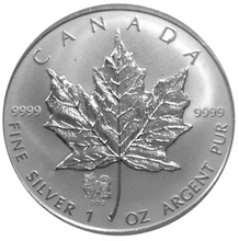 2006 Silver maple Leaf with Privy Marks-Year of the Dog