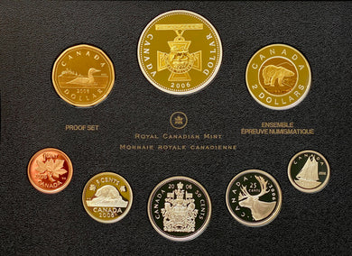 2006 Proof Set-150th Anniv. of the Victoria Cross