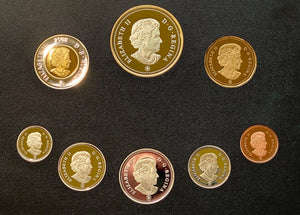 2008 Proof Set-400th Anniversary of Quebec City