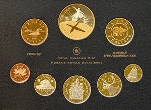 2009 Proof Set-100th Anniversary of Flight in Canada