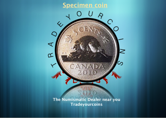 2010 Canada Five Cents Specimen Nickel Beaver