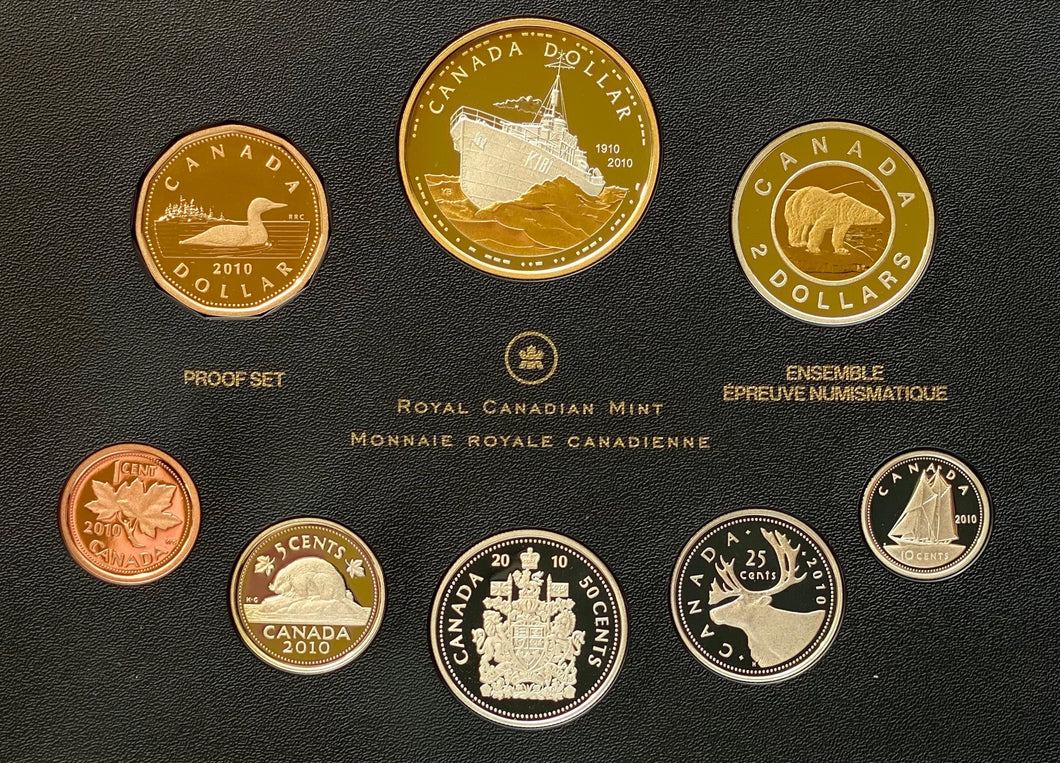 2010 Proof Set-100th Anniversary of the Royal Canadian Navy