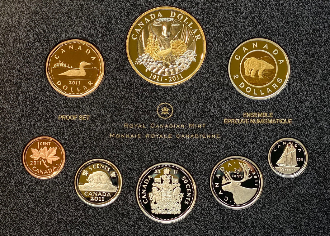 2011 Proof Set-100th Anniversary of Parks Canada