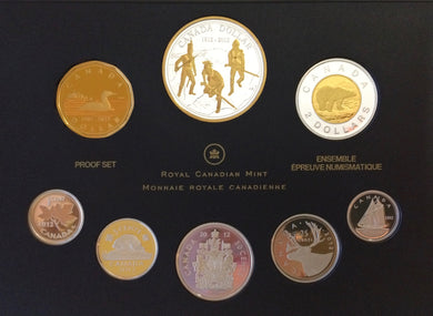 2012 Premium Proof Set-200th anniversary of the War of 1812