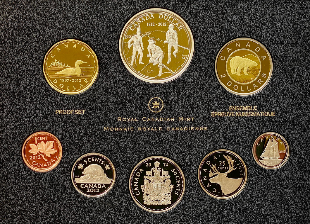 2012 Proof Set-War of 1812