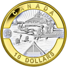2013 Canada Fine Silver $10 ten dollars O Canada set One, Gold Plated-12 coin