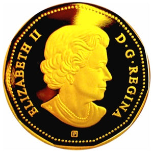 2014 Canada Silver Proof Loonie Dollar