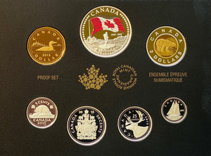 2015 Premium Proof Set-50th Anniversary of the Canadian Flag