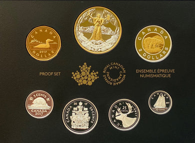 2017 Pure Silver Proof Set - 150th Anniversary of Canadian Confederation