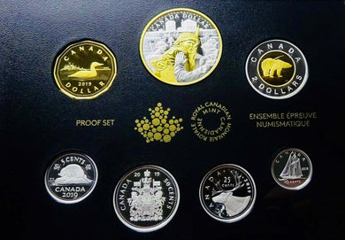 2019 Pure Silver 7-Coin Proof Set - 75th Anniversary of D-Day