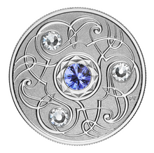 2020 Canada Fine Silver $5 Five Dollars- Birthstones: September-Sapphire