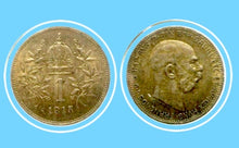 1915 Austria 1 Corona-Habsburg-Franz Joseph I, Silver Coin-Lot-232 - Trade your coins