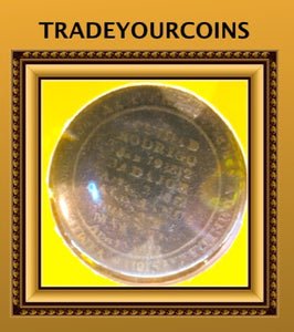1812 Wellington Token Madrid