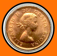 1954 SF Canada Small One Cent Elizabeth II- lot # A13