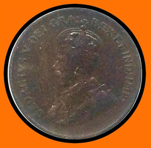 1932 Canada Small One Cent George V lot # A6 - Trade your coins