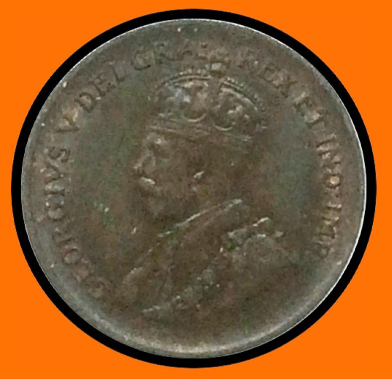 1935 Canada Small One Cent George V lot # A7 - Trade your coins
