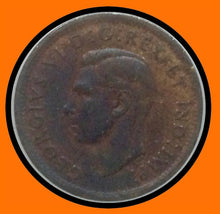 1940 Canada Small One Cent-extra Bud George VI lot # A8
