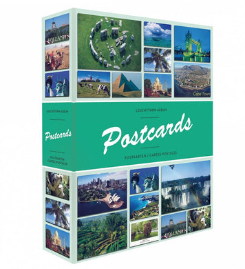 ALBUM POSTCARDS FOR 200 POSTCARDS, WITH 50 BOUND SHEETS : 347770