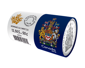 2018 50-cent Special Wrap Circulation Roll